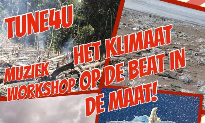 Het KLIMAAT op de BEAT in de MAAT! (Muziek & Milieu)