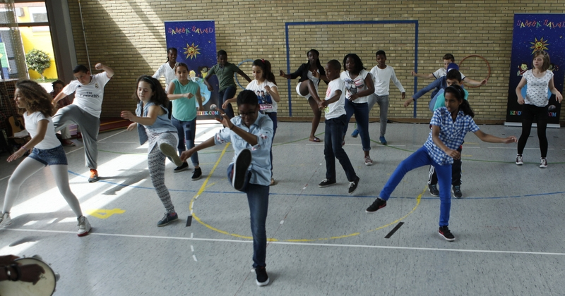 Braziliaanse dans en bodypercussie