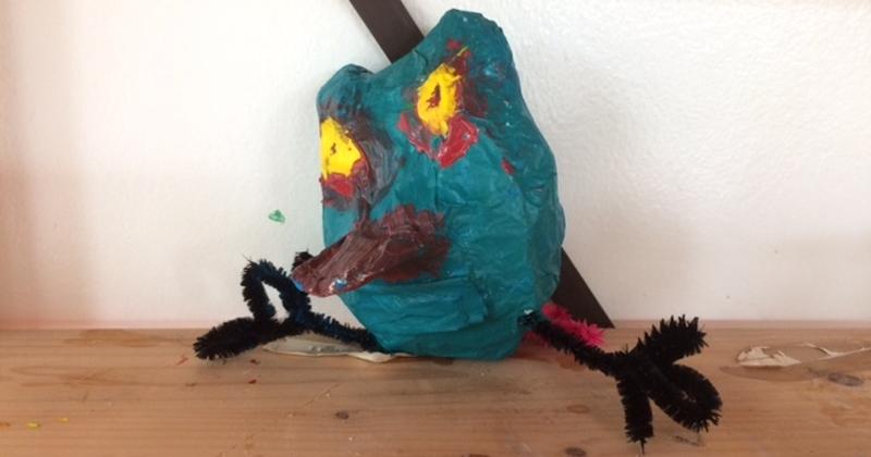 Kinderboekenweek 2017: Gruwelijk eng dier maken in 3D.