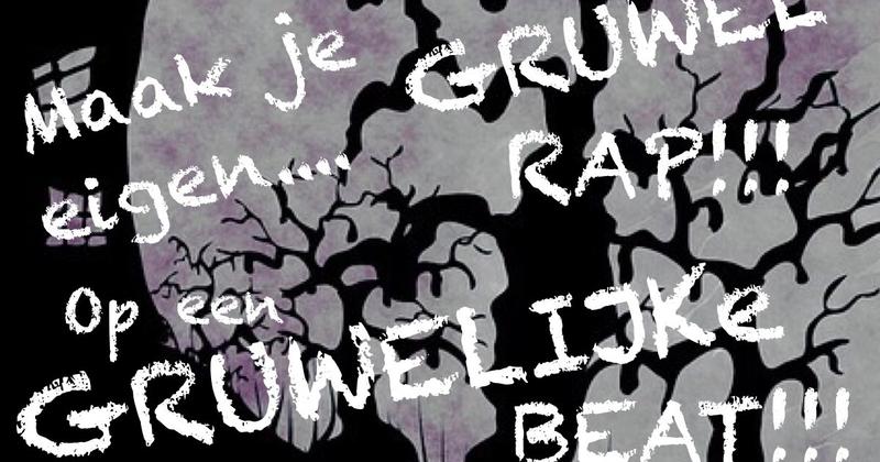Maak je eigen GRUWEL rap voor HALLOWEEN!