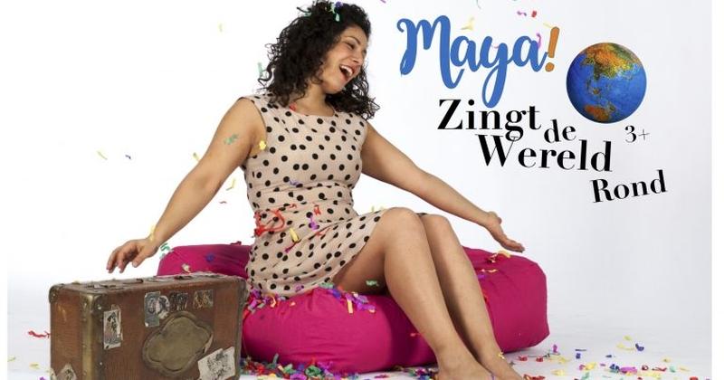 Maya Zingt de Wereld Rond