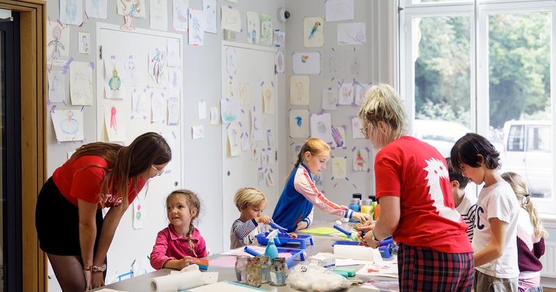 Workshop | Kleurpraat en Vormentaal