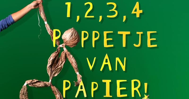 1, 2, 3, 4 Poppetje van papier - 2-ater Producties en De Grote Haay