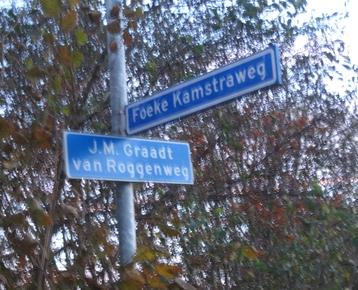 Afbeelding 1 Straatnamenproject: wie is die weg?