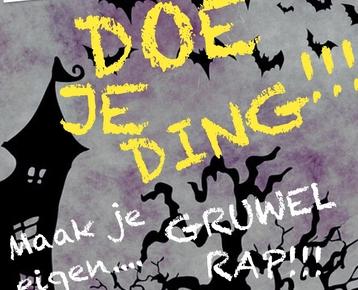Afbeelding 1 Doe JE Ding! Maak je eigen Gruwel rap!