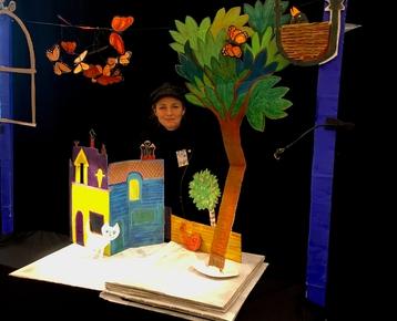 Afbeelding 4 Theater in de klas met  prentenboek voorstelling en workshop