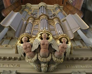 Afbeelding 3 Bezoek het wereldberoemde Schnitger orgel in de Grote Kerk Alkmaar én maak zelf een orgel in de klas!