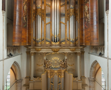 Afbeelding 4 Bezoek het wereldberoemde Schnitger orgel in de Grote Kerk Alkmaar én maak zelf een orgel in de klas!