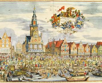 Afbeelding 1 Kaasmysterie - Alkmaar handelsoorlog 17e eeuw