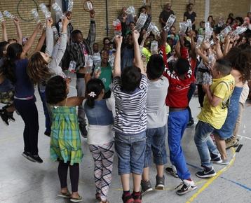 Afbeelding 8 Braziliaanse dans en bodypercussie