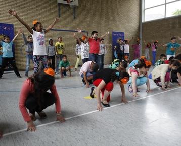 Afbeelding 9 Braziliaanse dans en bodypercussie