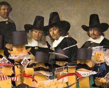 Afbeelding 3 Kaasmysterie - Alkmaar handelsoorlog 17e eeuw