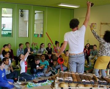 Afbeelding 9 Hoorspel Radio Afrika - workshop / voorstelling met de klas
