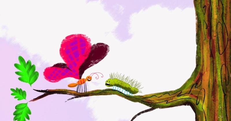 Vlinder- VERSCHIL = LEUK!